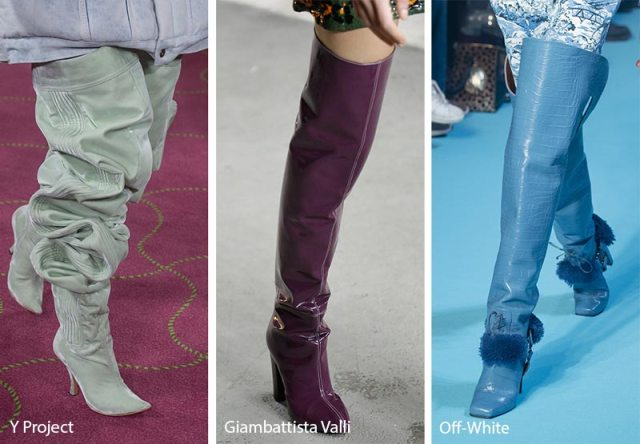 Fall/ Winter 2018-2019 Shoe Trends: Thigh-High Boots
