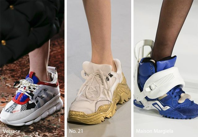 Fall/ Winter 2018-2019 Shoe Trends: Ugly Sneakers