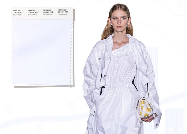 Pantone Spring/ Summer 2020 Colors Trends: Brilliant White
