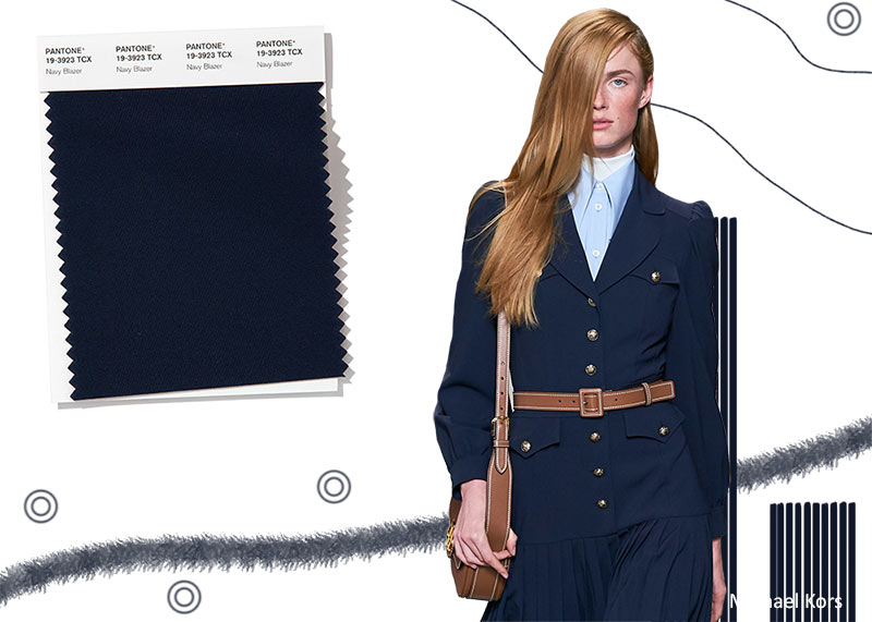 Pantone Spring/ Summer 2020 Colors Trends: Navy Blazer