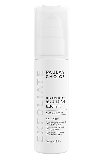 Best Paula's Choice Products: Paula's Choice Skin Perfecting 8% AHA Gel Exfoliant