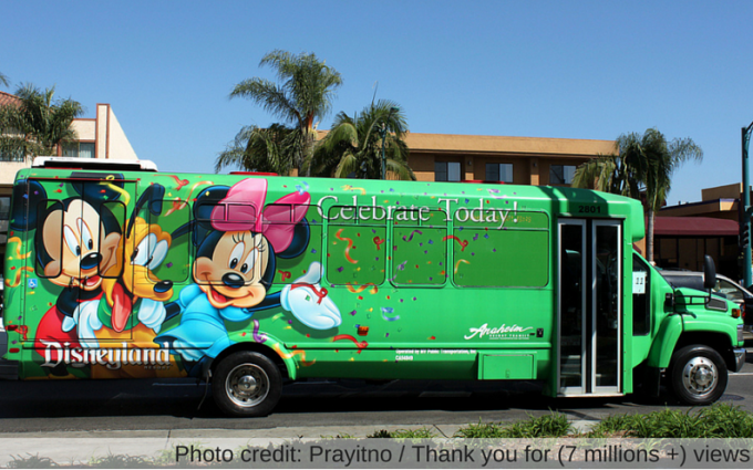 discount disneyland ART shuttle