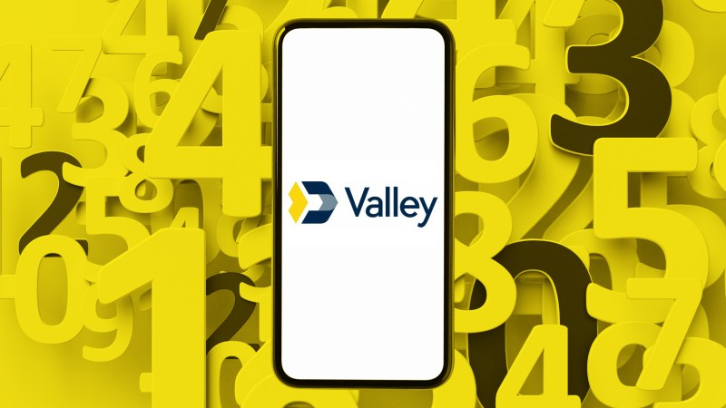 Valley National Bank routing number