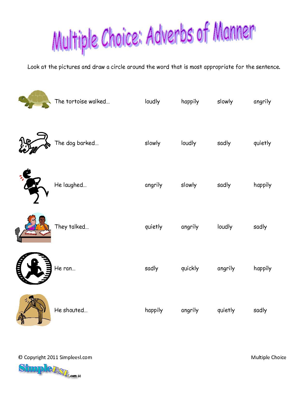 English Adverbs
