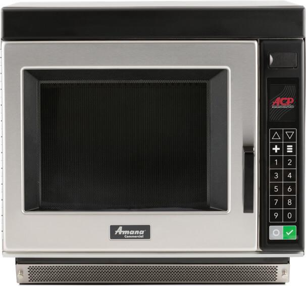 amana rc17s2 1 700 watt commercial microwave oven heavy volume