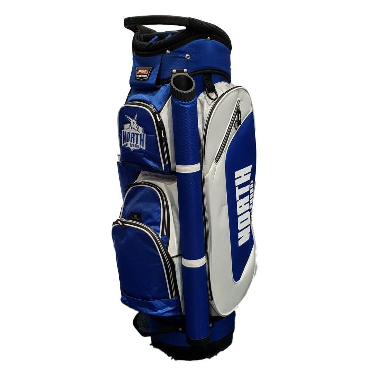 Golf Cart Bag With Official Afl Logo In Team Colours