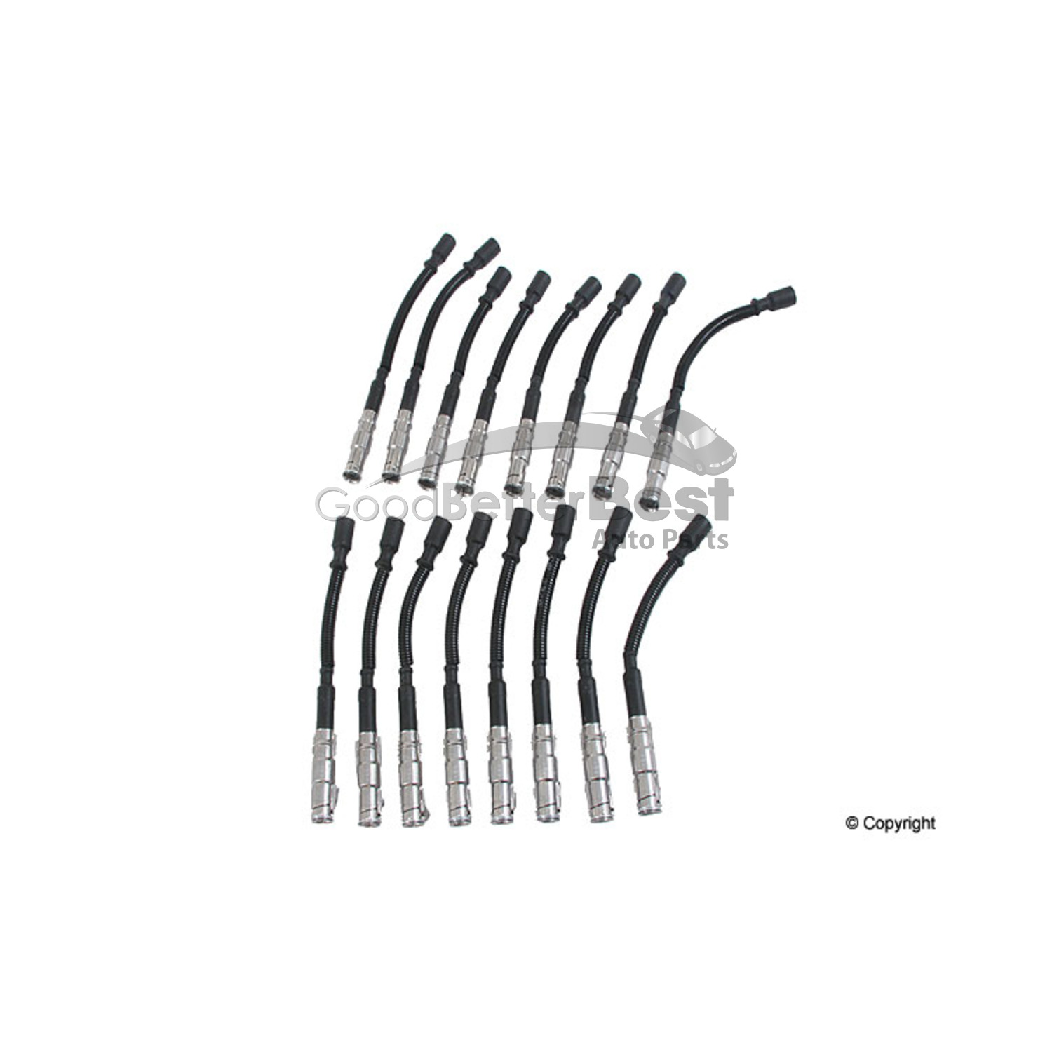 New Beru Spark Plug Wire Set Zef For