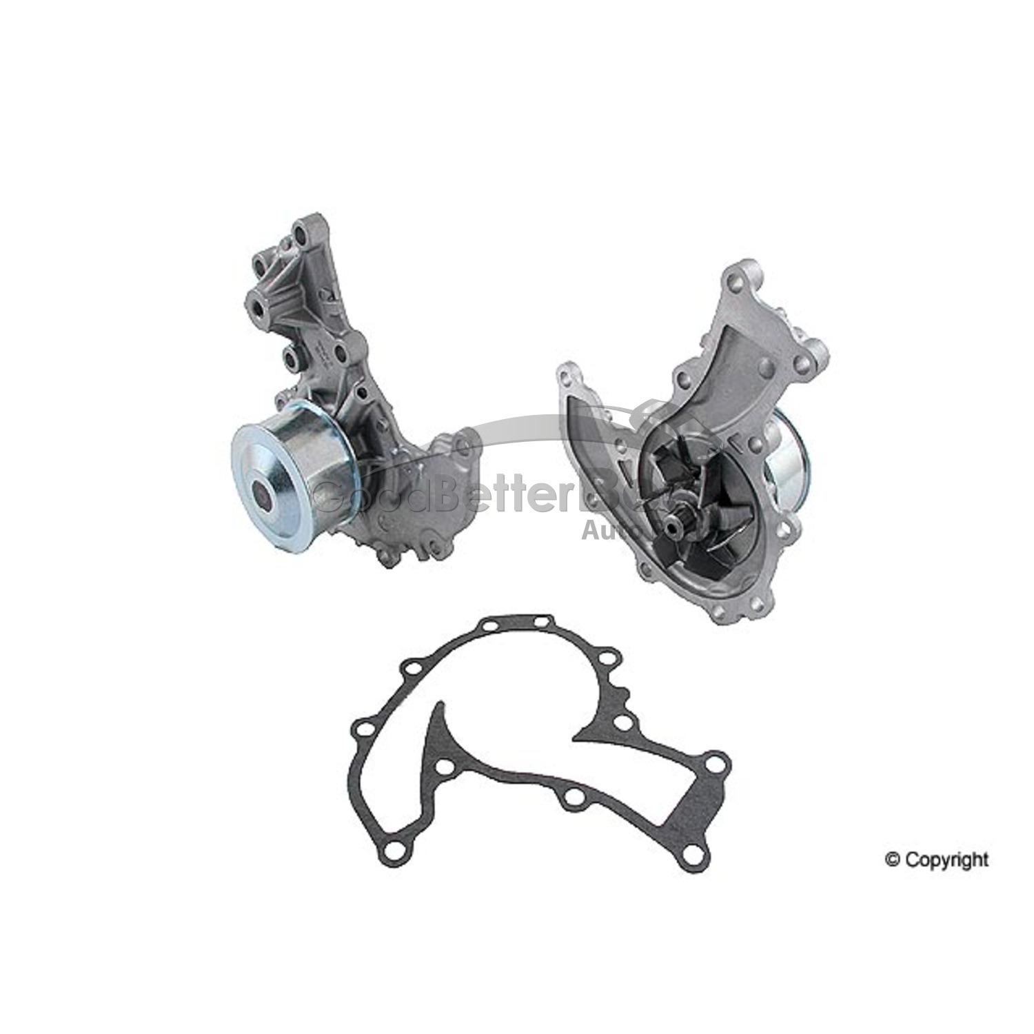 One New Gmb Engine Water Pump For Honda