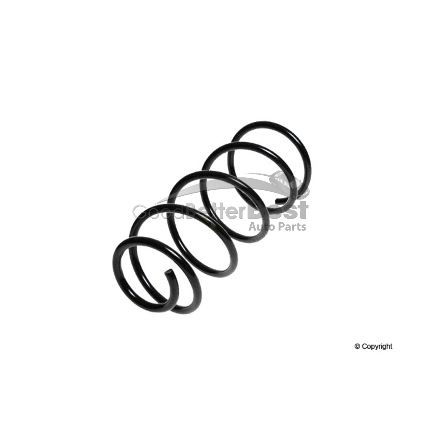 One New Lesjofors Coil Spring Front For