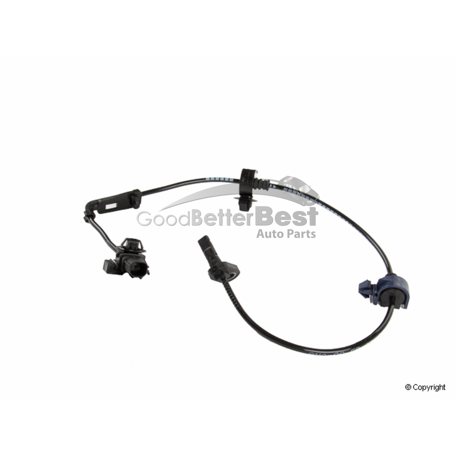 One New Genuine Abs Wheel Speed Sensor Front Right