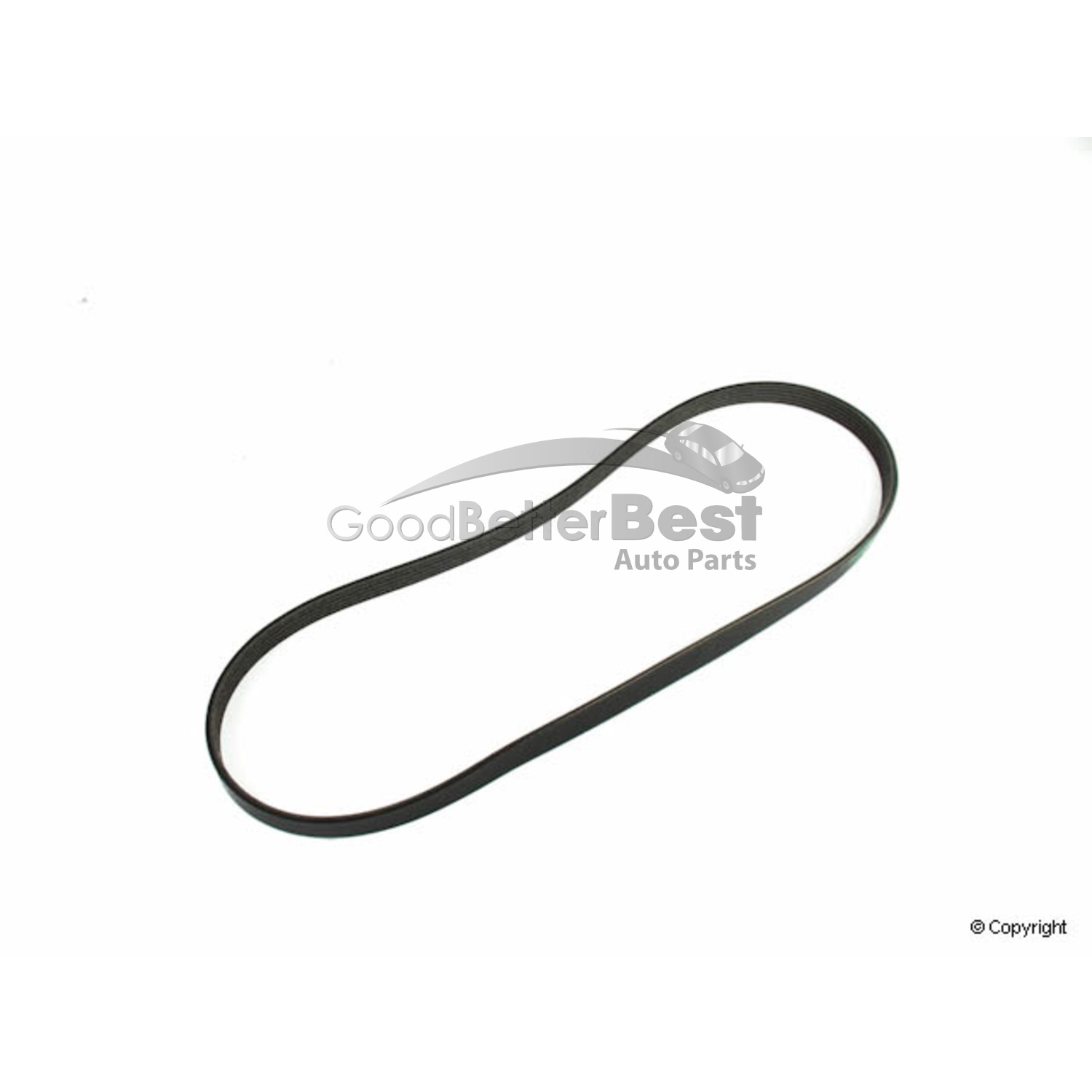 One New Mitsuboshi Serpentine Belt 5pk For Audi