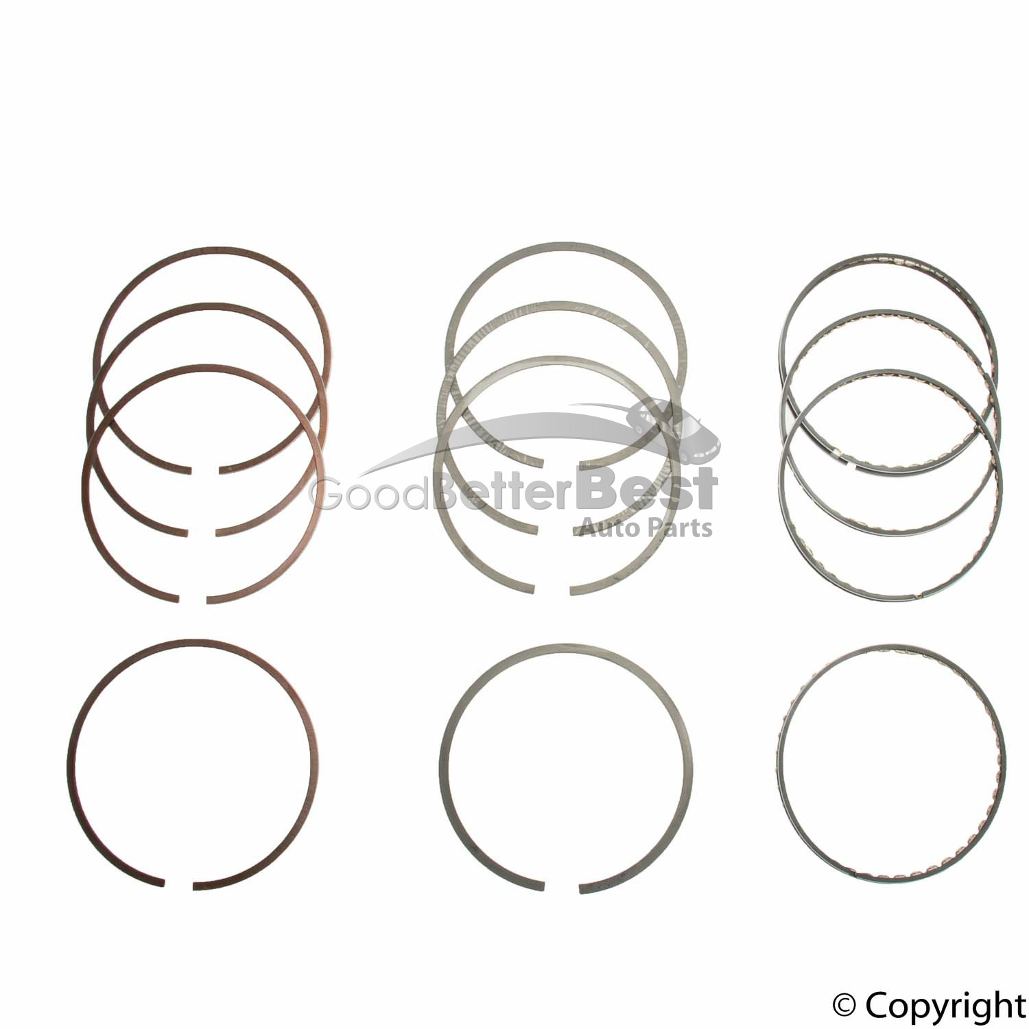 New Npr Engine Piston Ring Set Swn Zz For Nissan