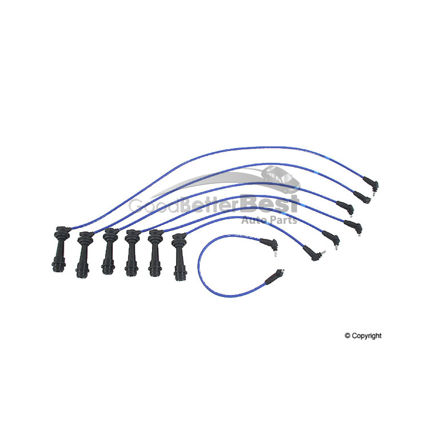 New Ngk Spark Plug Wire Set For Lexus Toyota Gs300