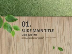 Wood PowerPoint Template | Goodpello