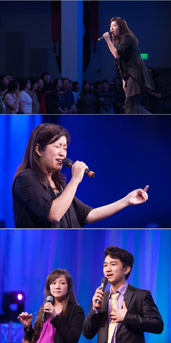 基督日報(香港) - 讚美之泉《將天敞開》巡迴北美 千餘人同聲讚美