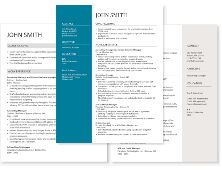 This may seem like a lot of pressure, but getting the right format for a resume is easier than it seems at first. Resume Builder Free Resume Builder