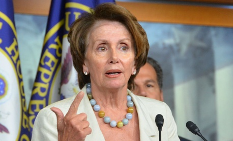 "House Minority Leader Nancy Pelosi, D-Calif., accused House Republicans of ""recklessness"" by jeopardizing funding for Homeland Security."