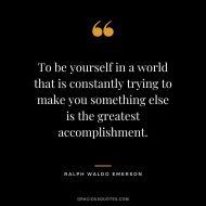 108 Ralph Waldo Emerson Quotes (SELF-RELIANCE)