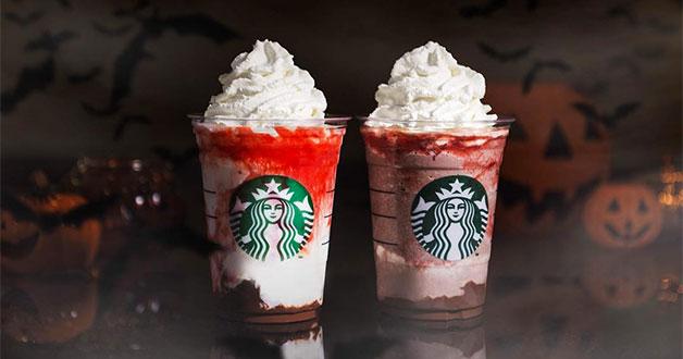 Starbucks Introduces Mr Amp Mrs Vampire Frappuccino Because