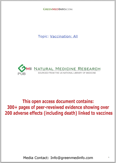 Vaccination: 200+ adverse effects