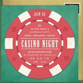 poker invitations greenvelope com