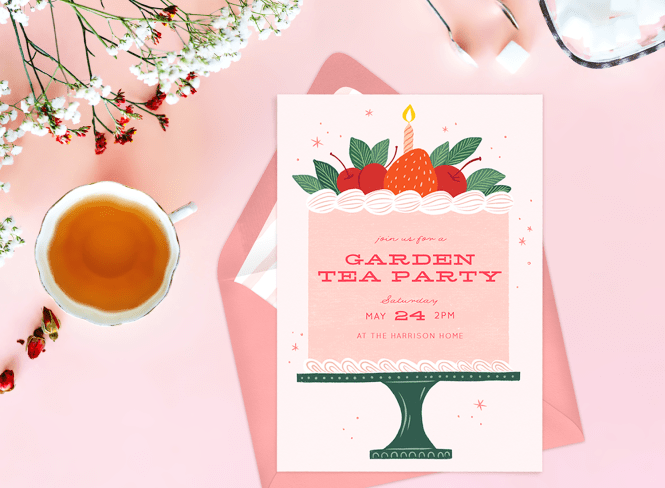 8 Tea Party Invitations For Your