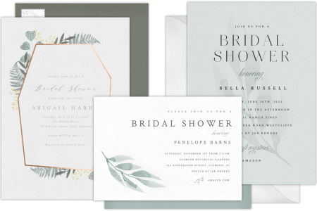 How Far In Advance Should I Mail Wedding Shower Invitations – When to Mail Wedding Shower Invitations