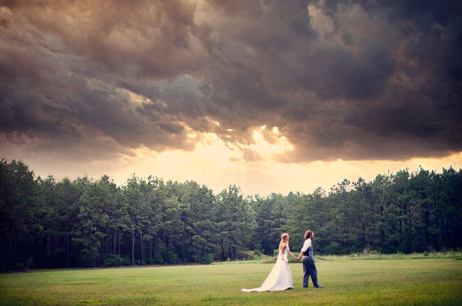 bride and groom fine art photo