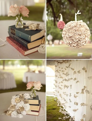 wedding with book details