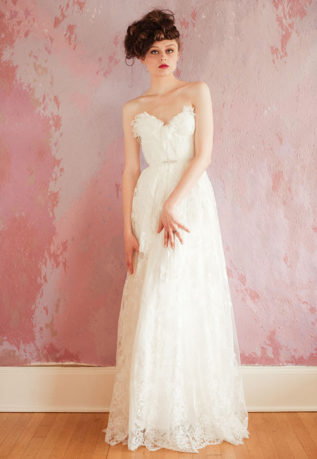 sarah seven spring 2013 wedding dresses