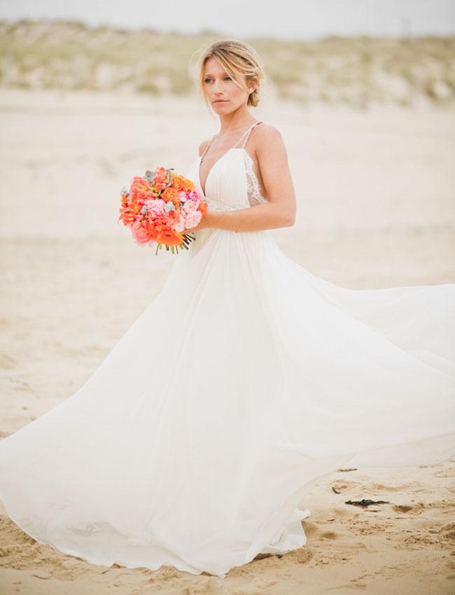 surf inspired bride