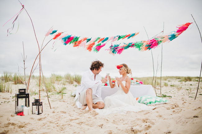 surf wedding inspiration