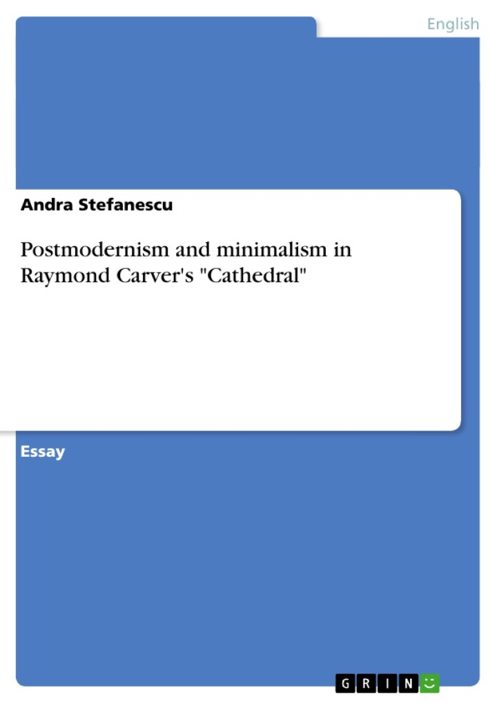 cf cathedral by raymond carver essay cathedral by raymond carver essay