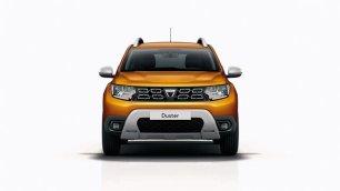 Duster - SUV portocaliu