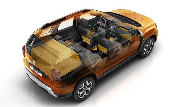 Dacia Duster 2019 interieur