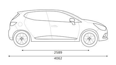 Dimensions Renault Clio Longueur Largeur Coffre