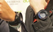 Wearing the Cybertool in conjunction with the I.N.O.X watch