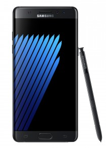 Samsung Galaxy Note7: Onyx Black