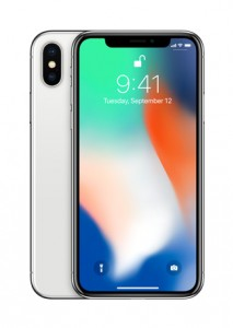 Apple iPhone X in: Silver