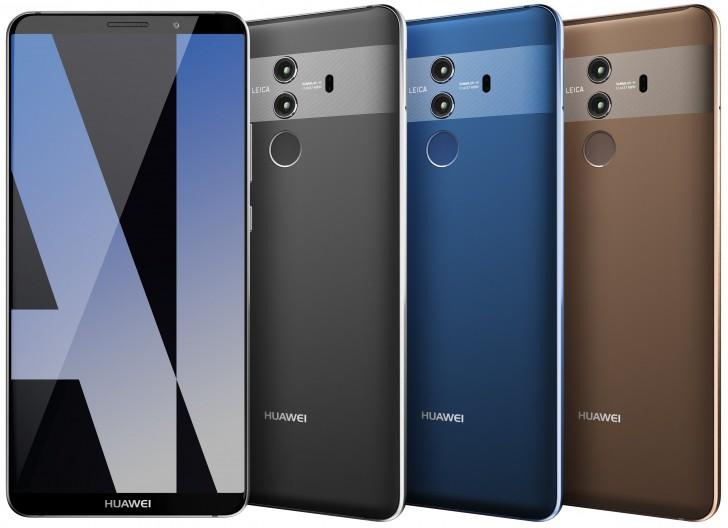 Huawei Mate 10 Pro Shows Its Colors Cameras Gsmarena Com News