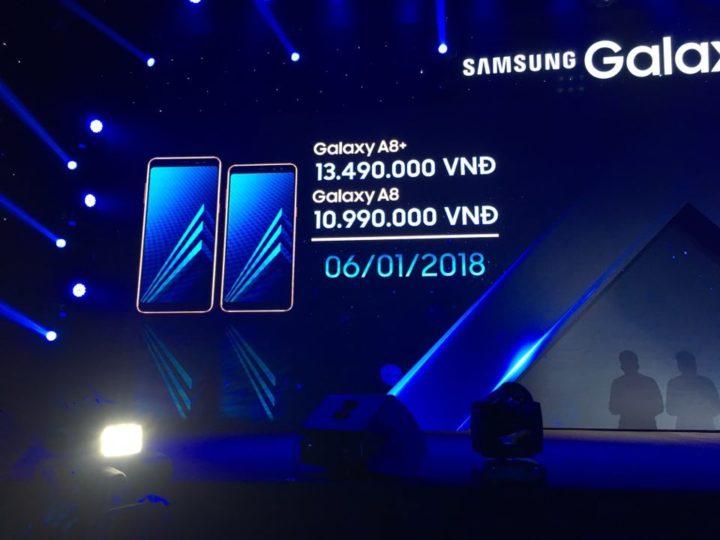 Samsung confirma data de lançamento Galaxy A8 (2018) e A8 + (2018) 1