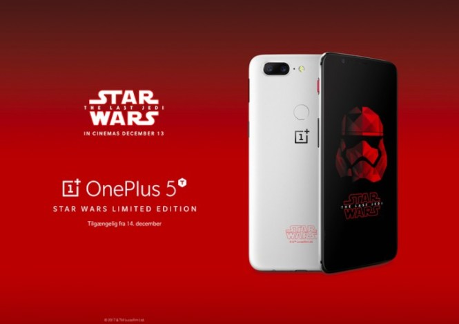 OnePlus 5T Star Wars edition coming to Europe too