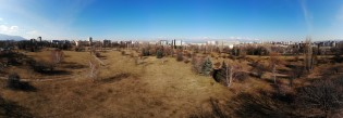 Panoramic image from Mavic Air