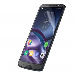 Moto G6 Plus with screen protector