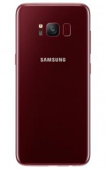 Samsung Galaxy S8 in Burgundy Red