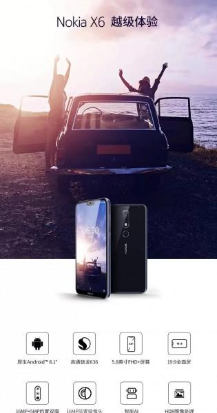 More Nokia X6 promo images