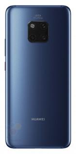 Les rendus présumés du Huawei Mate 20 Pro