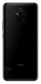 Les rendus allégués du Huawei Mate 20 Pro