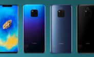 Huawei Mate 20's RAM and storage versions revealed