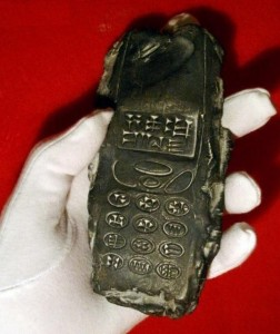 The Babylonokia: an 800-year old alien cell phone